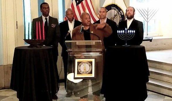 Brooklyn Borough Hall Press Conference Addressing Hate Crimes