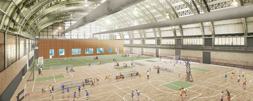 Bedford-Union Armory Opening April 2021